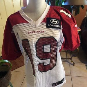 Cardinals Red and White field Jersey